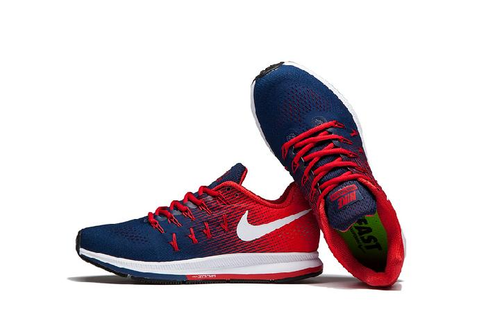 Imported Nike Zoom 33 Blue Red Men's Running Shoes ...